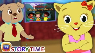 Gatitos Vs Perros Película Broma | Cutians Show de Comedia de dibujos animados Para Niños | ChuChu TV