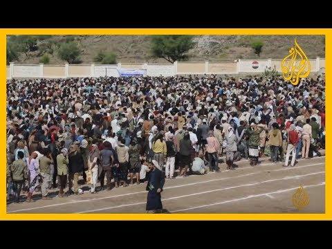????  ????تسجيل مصور لمقاتلين عائدين إلى #تعز من جبهات القتال على الحدود الجنوبية للسعودي  - نشر قبل 3 ساعة