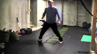 Step Agility Ladder Drills