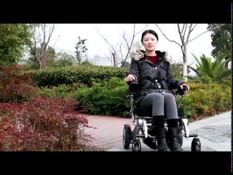 Melebu lightweight foldable electric wheelchair