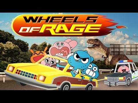The Amazing World of Gumball: Wheels Of Rage HD