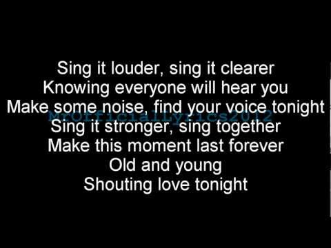 Gary Barlow - Sing (Lyrics) *HQ AUDIO* [Commonwealth]