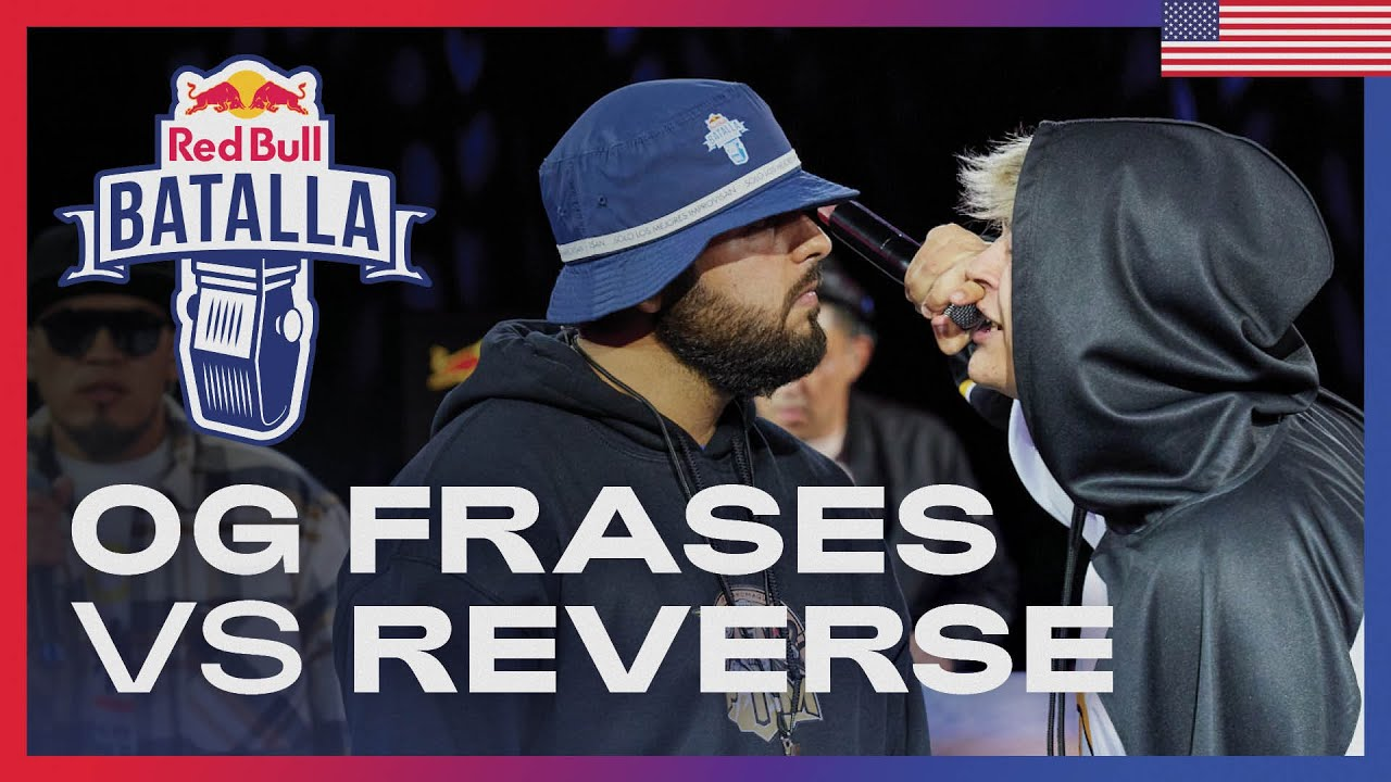 OG Frases vs Reverse - Octavos | Red Bull Estados Unidos 2021