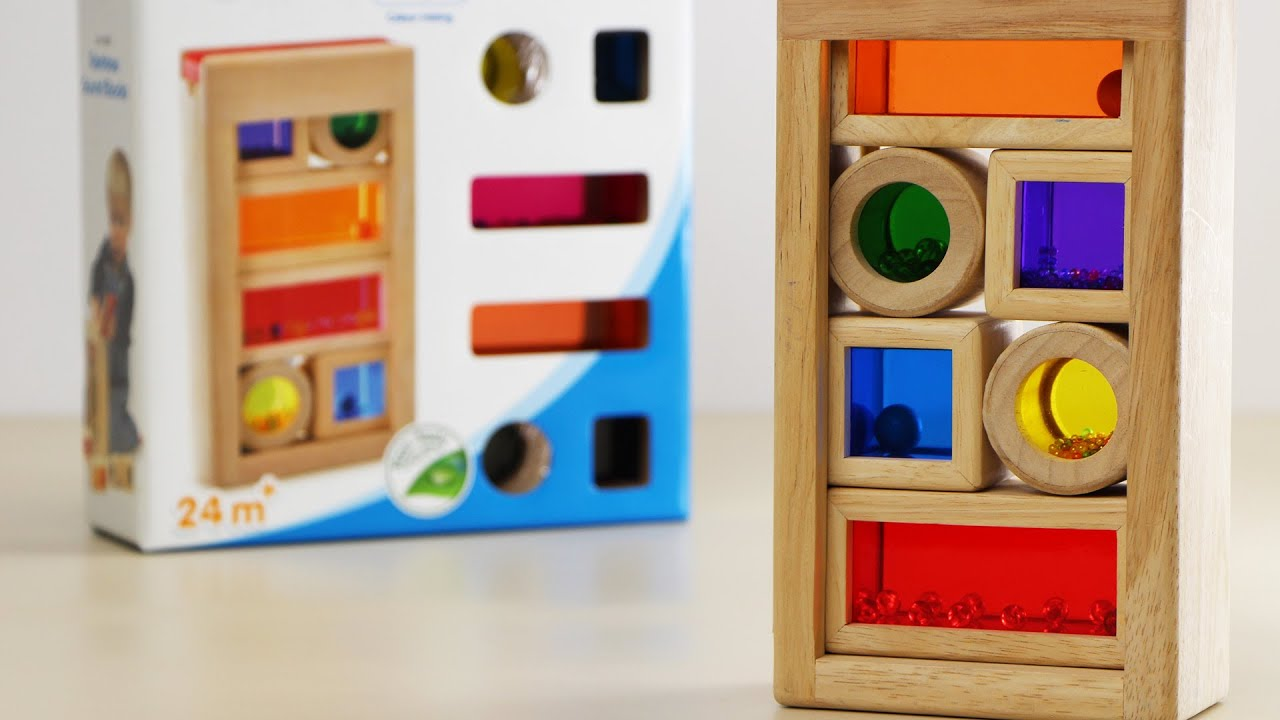 Rainbow Sound Blocks Construction Skill Toy Review