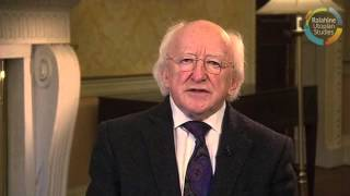 Utopian Studies Symposium 2013, Welcoming comments: President of Ireland Michael D. Higgins