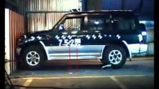 Краш тест Mitsubishi Pajero Wagon 1991