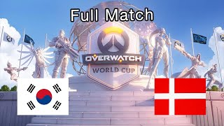 South Korea vs Denmark - 2019 Overwatch World Cup