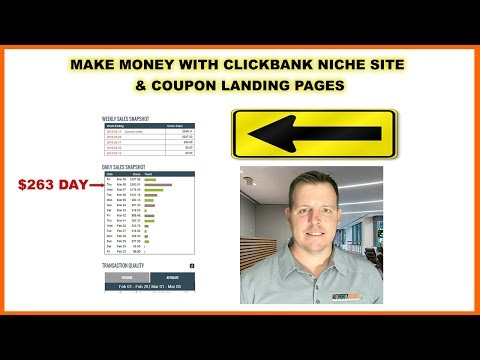 Make Money With Niche Sites and Coupon Codes