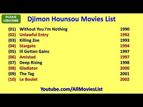 Download Djimon Hounsou Movies List