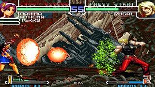 [TAS] KOF 2002 3rd Strike Of Orochi - Random Team ( Solo Combos )