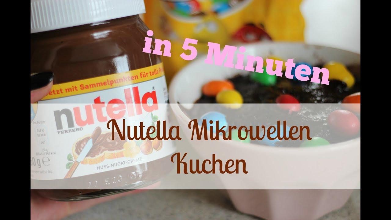 Nutella Tassen Kuchen Einfach Richtig Lecker Youtube