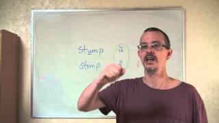 Q&A: STUMP vs STOMP: Pronunciation Difference