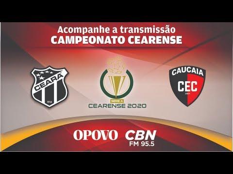 CEARÁ X CAUCAIA  AO VIVO – CAMPEONATO CEARENSE-4ª RODADA- Acompanhe Todos os Lances Aqui.