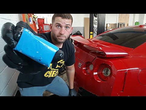 Totaled Nissan GT-R Rebuild - Part 5
