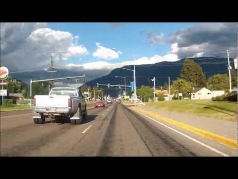 Columbia Falls to West Glacier, Montana (8-2-12)