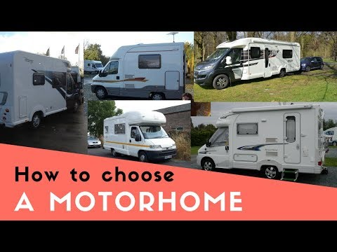 How to Choose a Motorhome