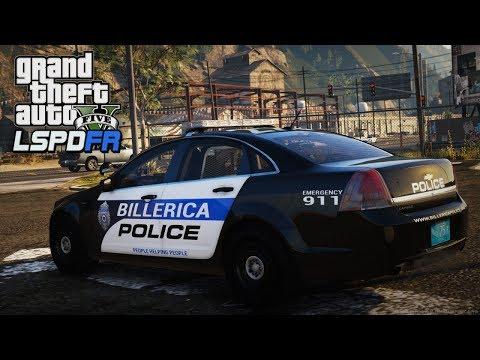 GTA 5 LSPDFR - Day 96 | Billerica Police Department | LSPDFR Stolen Police Car 🚔