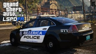 GTA 5 LSPDFR - Day 96 | Billerica Police Department | LSPDFR Stolen Police Car 🚔