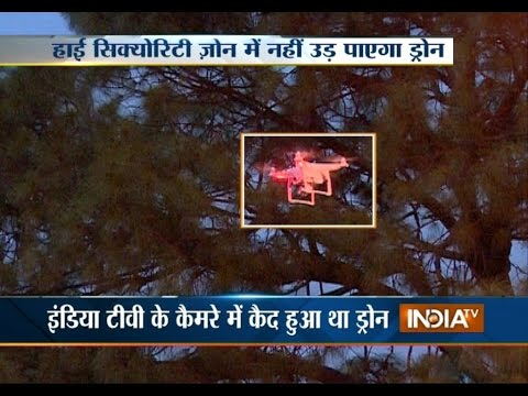 Foreign National Flying Drone in VVIP Zones, Scare Delhi Police - India TV