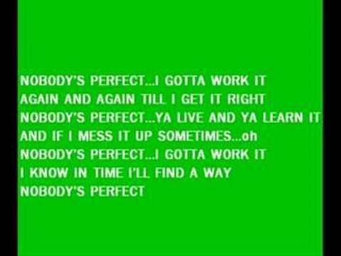 Nobody's Perfect by Hannah Montana (Lyrics)
