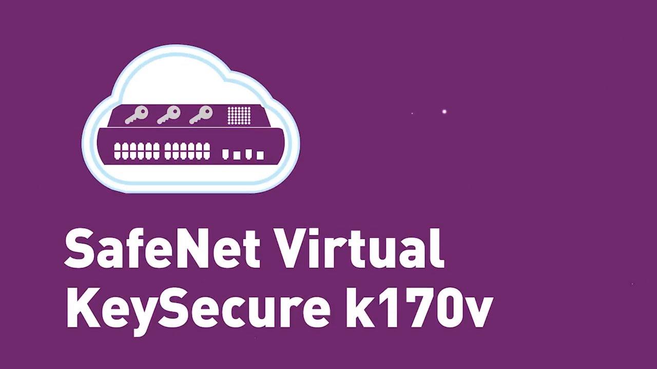 Gemalto's SafeNet Virtual KeySecure k170v
