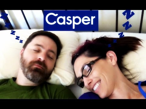 Casper Mattress Unboxing and Review with Link