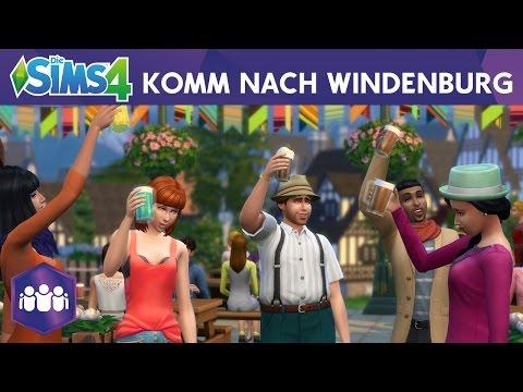 Die Sims 4 Zeit für Freunde: Komm nach Windenburg!