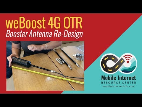 weBoost 4G OTR Antenna Re-Design - YouTube