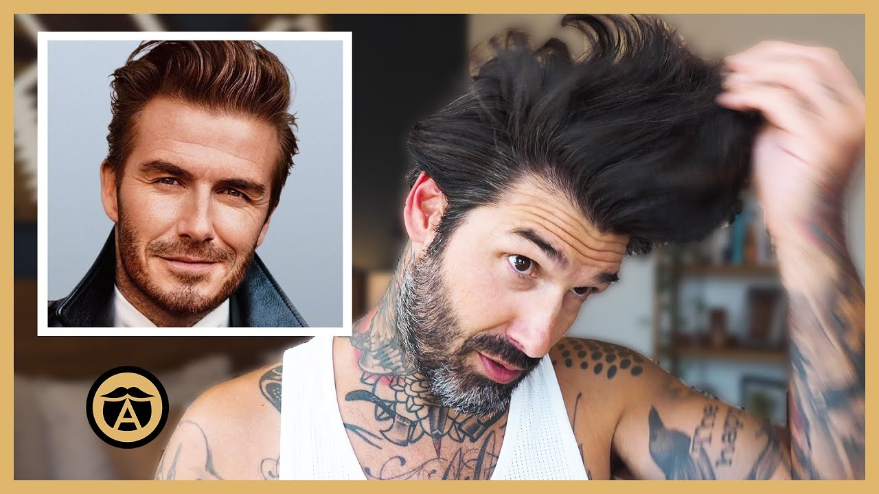 Recreating an Iconic David Beckham Hairstyle | Carlos Costa