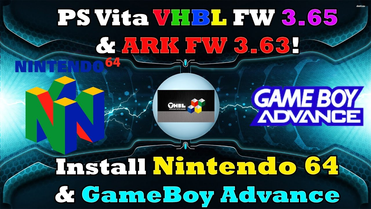how to install n64 emulator on ps vita