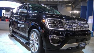 2018 Ford Expedition Platinum MAX - Exterior And Interior Walkaround - 2018 Montreal Auto Show