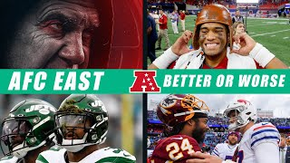 AFC East: Better or Worse?