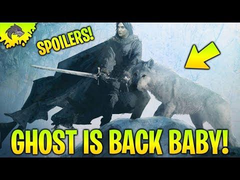 Game of Thrones Season 8 Spoilers Ghost Returns! Game of Thrones Season 8 Spoilers Cast Reactions!
