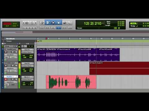#05 Pro Tools How-To: Edit Modes - Grid, Slip, Shuffle and Spot
