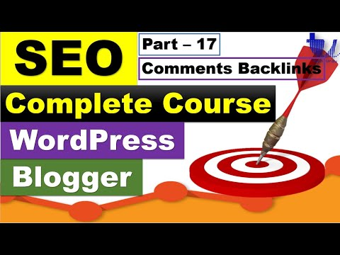 Complete SEO Course for WordPress & Blogger | Part 17 - Backlinks Via Commenting [Urdu/Hindi]