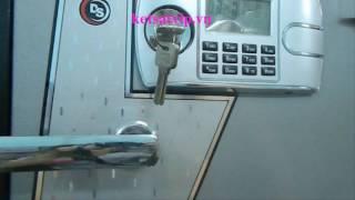 Hướng dẫn sử dụng két sắt khóa điện tử( bản full không phải ai cũng biết)
