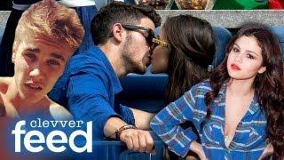 Justin Bieber's 'Stache, Selena Gomez's Perfect Man & Nick Jonas Kisses New GF - Clevver Feed