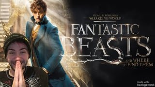 First Look! 'Fantastic Beasts and Where to Find Them' Full Trailer - REACTION!!!