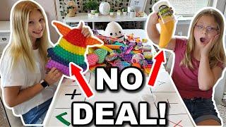 Trading Fidget Toys!!! **Very Intense**
