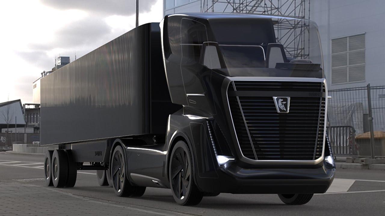 Kamaz Future Vision Truck Concept