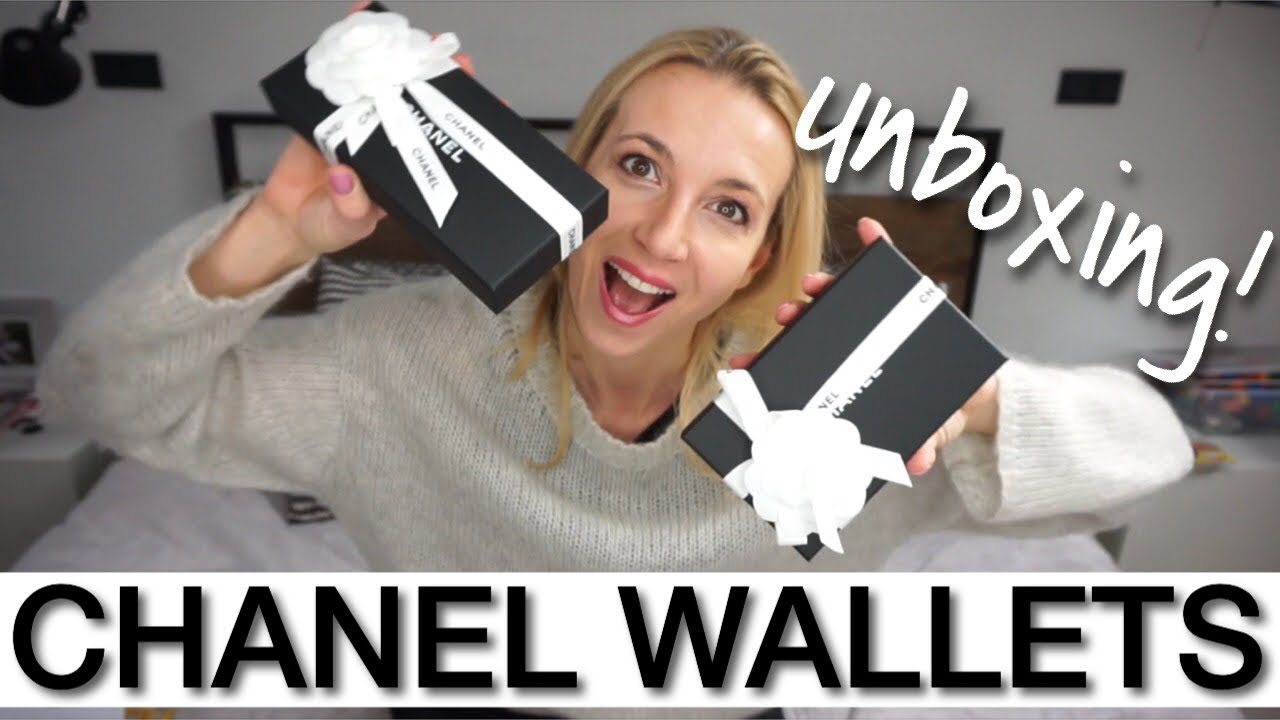 a70ff72fd2c81b CHANEL HAUL - WALLET UNBOXING. CHANEL CARD HOLDER. ANNA IN WARSAW ...