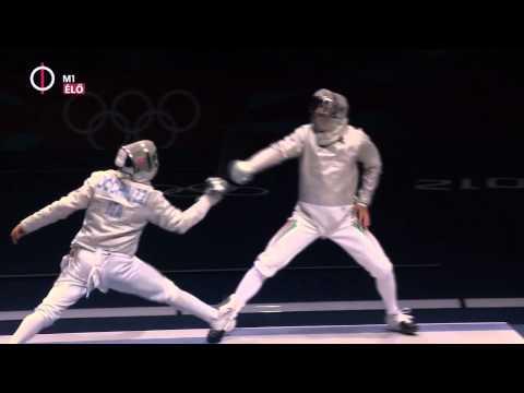 Olimpiai döntő (2012 London) Szilágyi Áron olimpiai bajnok