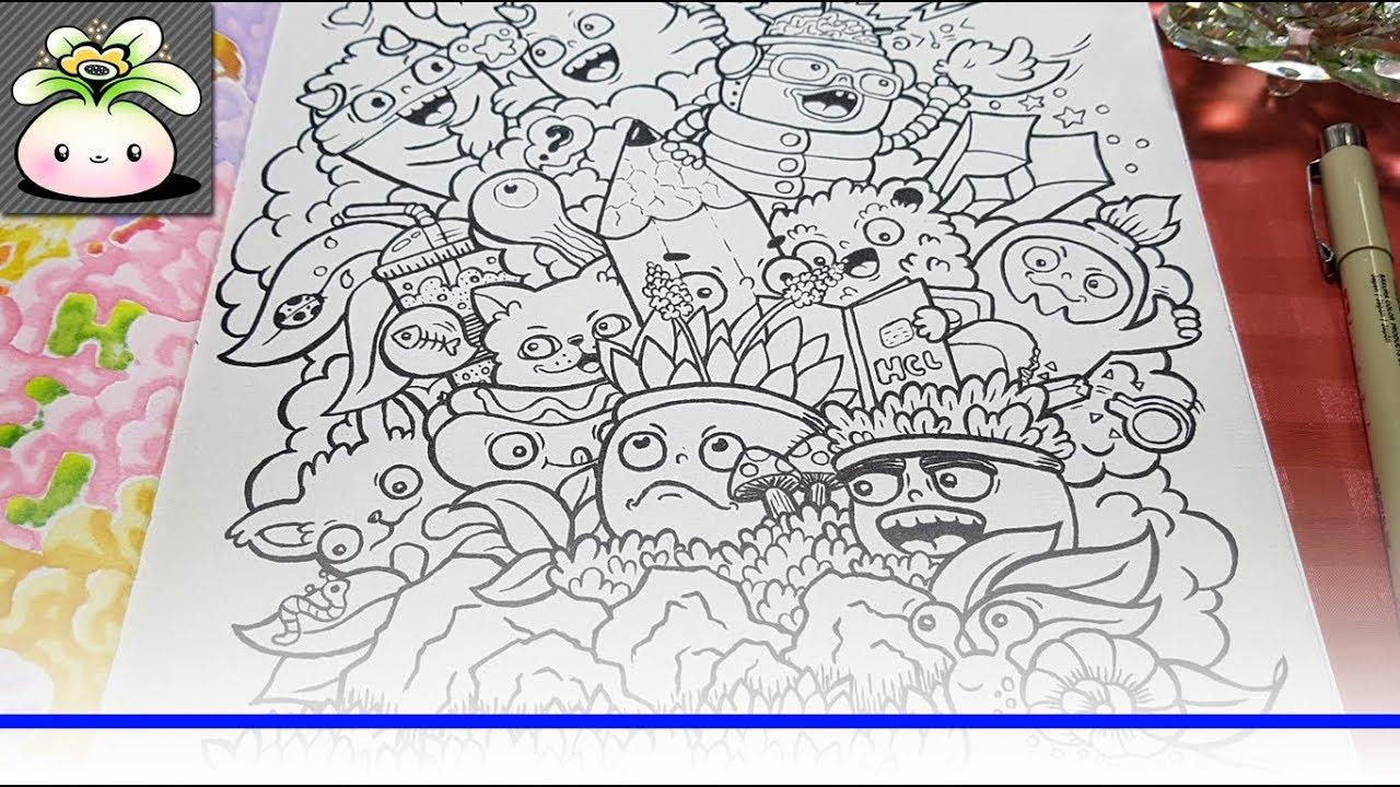 Doodle Art | Illustration Drawing Cute Doodles Nature ...