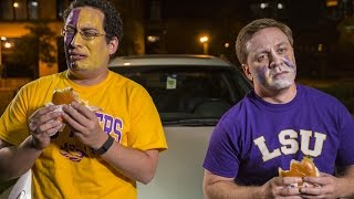 SEC Shorts - Sad LSU fans try to order a 'Beat Bama Burger'