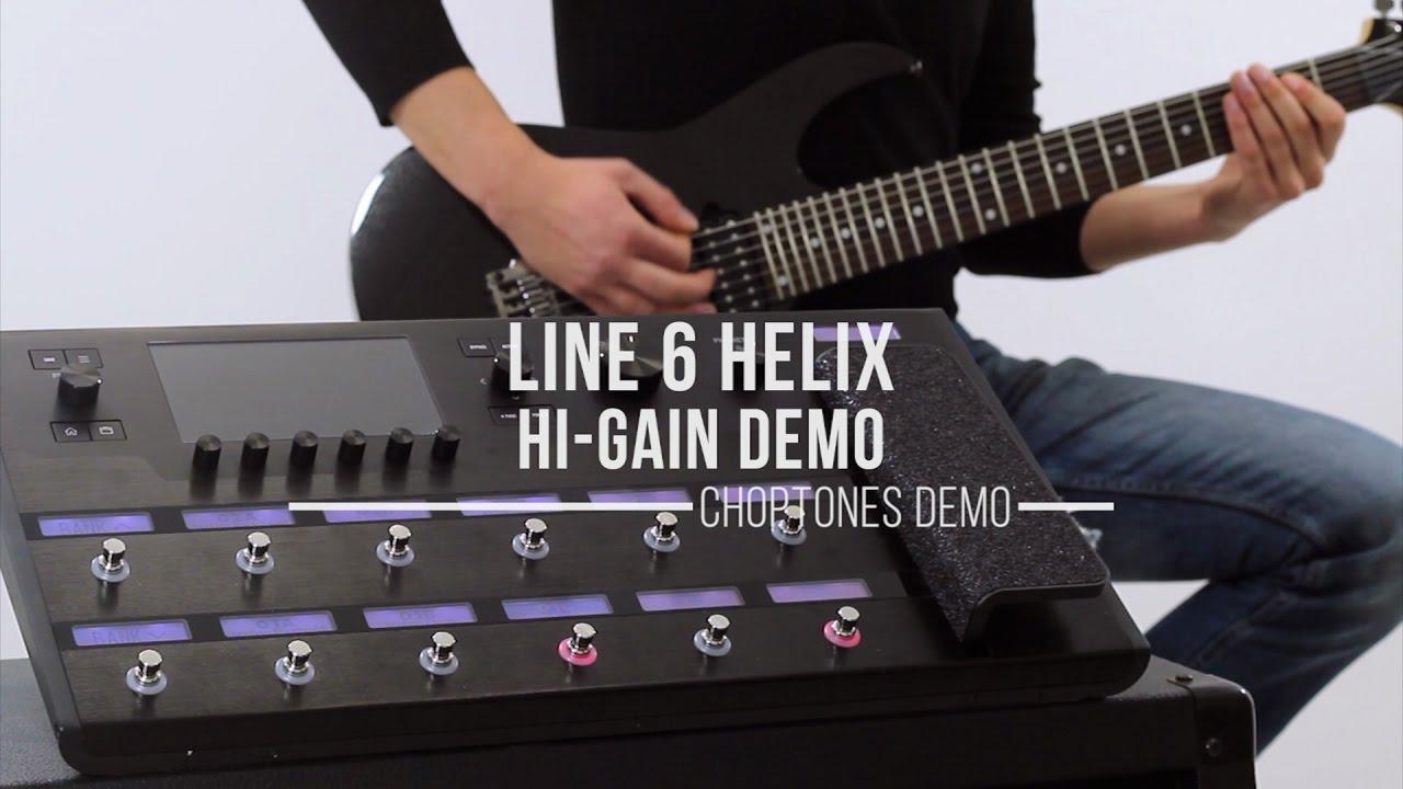 Line 6 Helix Metal Pack vol 1