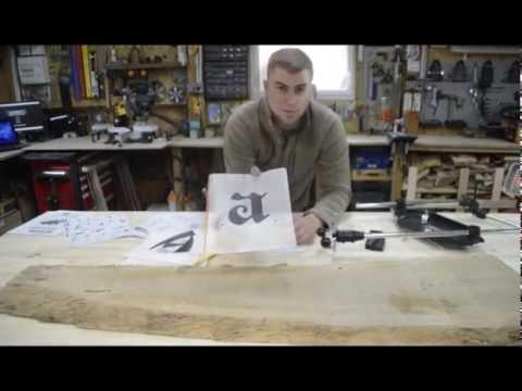 Réaliser une gravure avec le pantographe de Milescraft - wood working