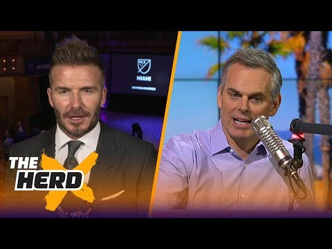 David Beckham joins Colin to talk about the state of the MLS and soccer in the U.S.  THE HERD