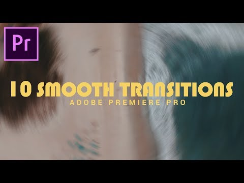 10 Free SMOOTH TRANSITIONS Preset Pack for Premiere Pro(Sam kolder Style) thumbnail