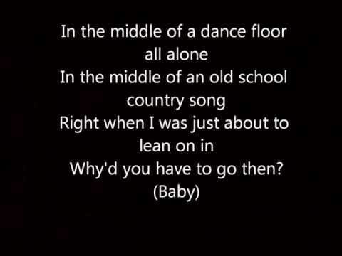 Cole Swindell - Middle of a Memory (Lyrics Onscreen + MP3 Download)