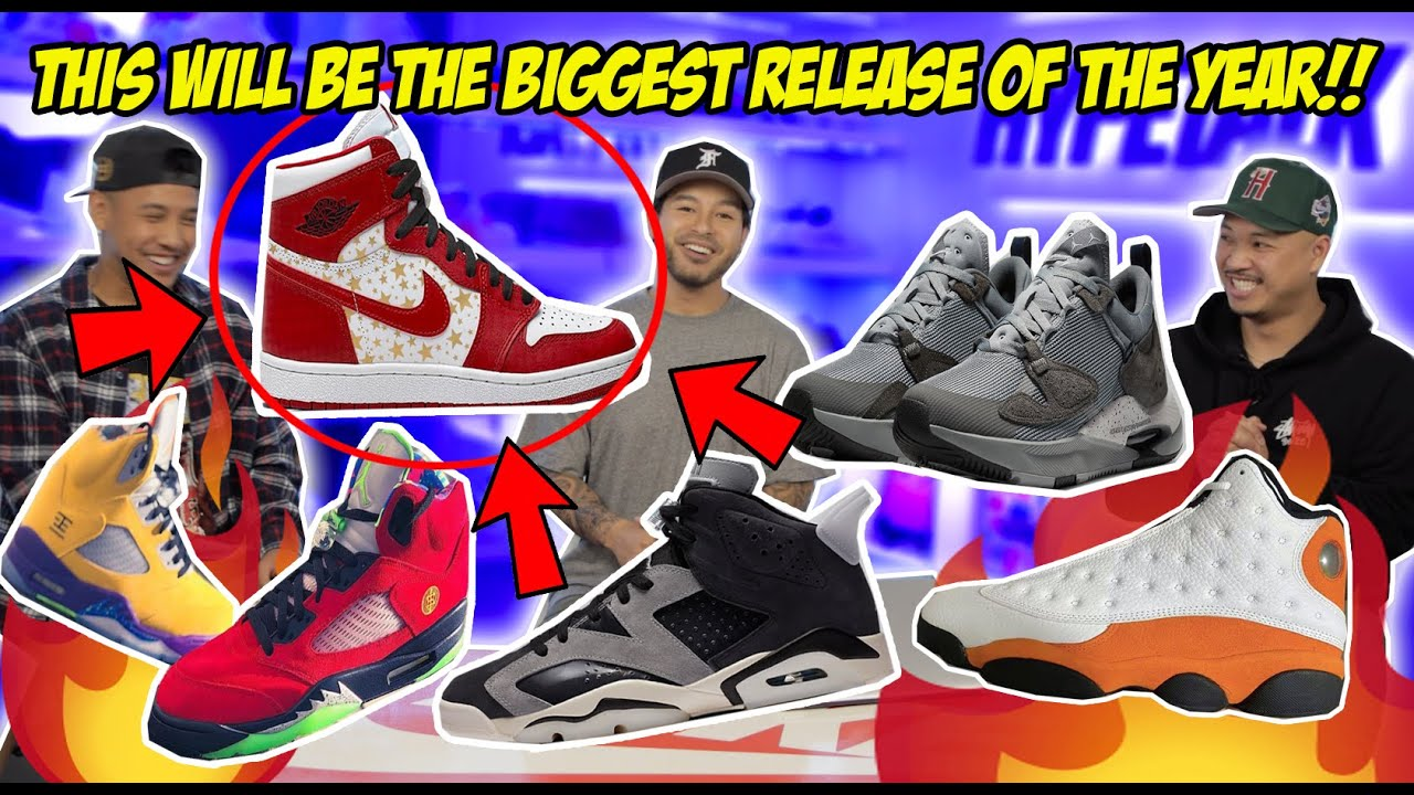 MORE INSANE UPCOMING SNEAKER RELEASES!! COP OR DROP?